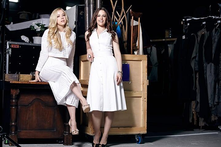 Emily Langridge & Kerrie Anne Greenland, Actors