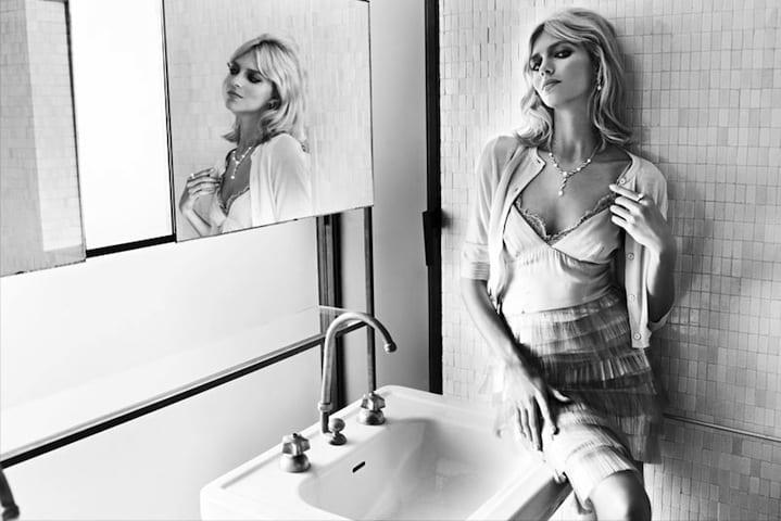 Anja Rubik, Model
